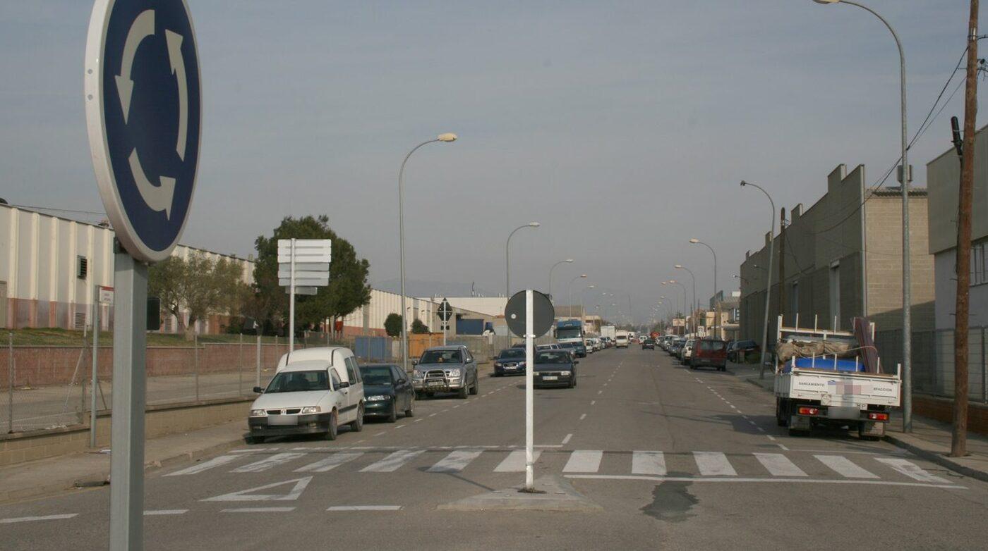 Carrer Artesans del Polígon Industrial de Valls.