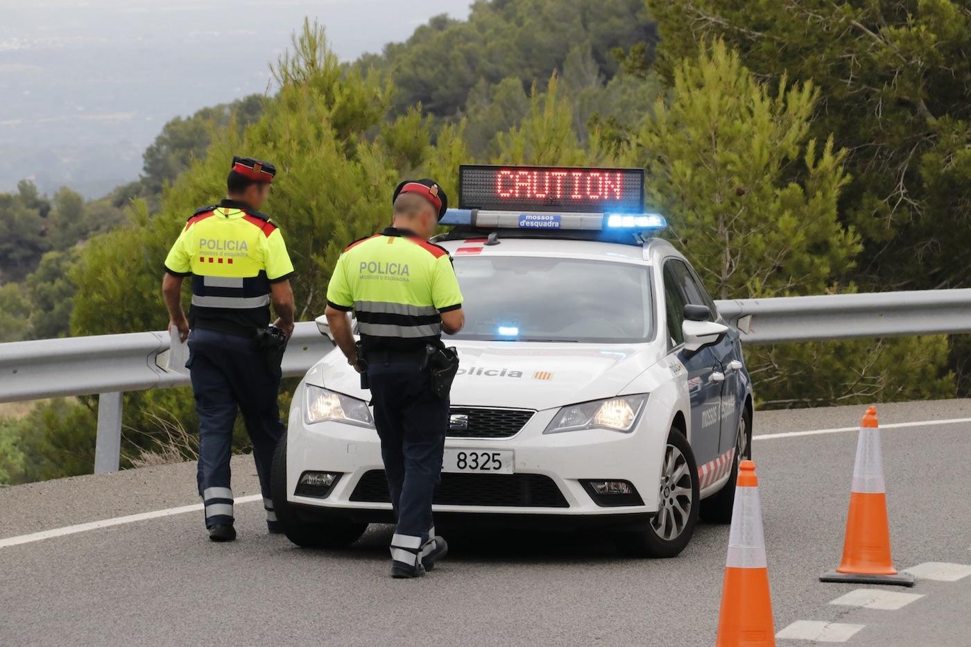 Un kamikaze de Vilallonga és detingut quan conduïa contra direcció a l'A-7