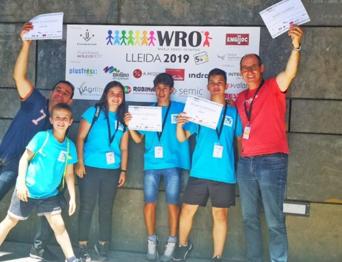Un grup de joves alcoverencs es classifica per a la final nacional de la World Robot Olympiad 2019