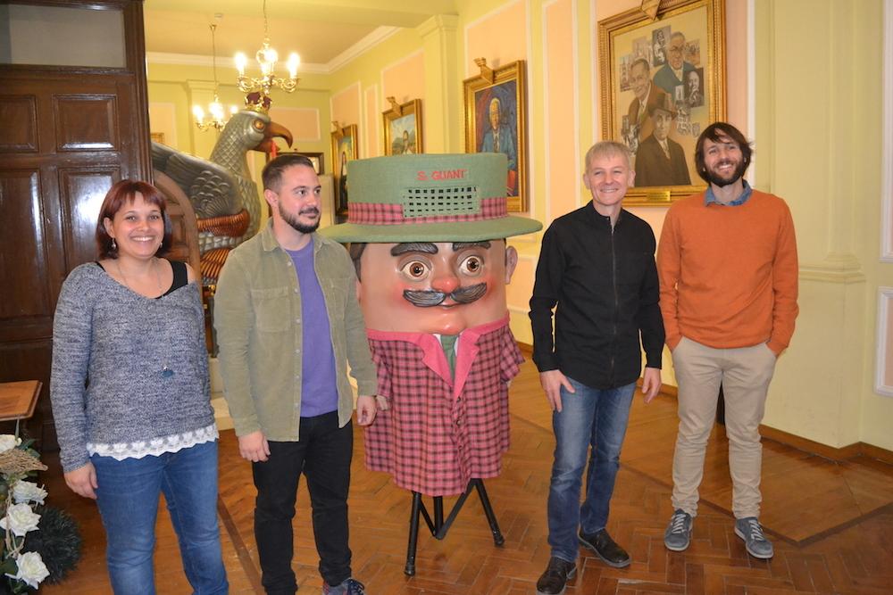 """Els històrics """"Os bonecos de Santo Aleixo"""", un dels espectacles destacats del 15è Guant"""