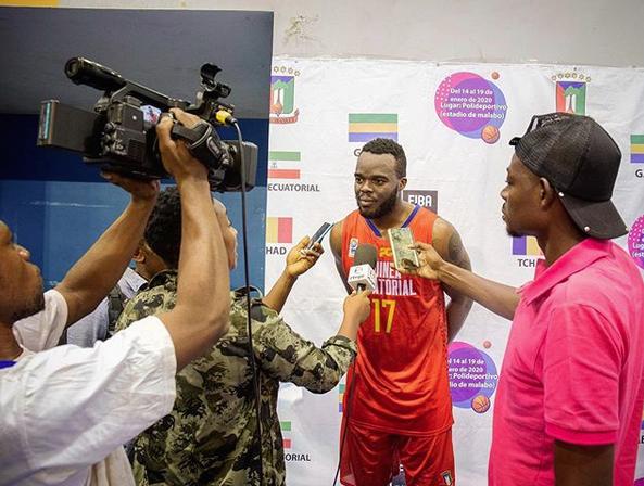 El vallenc Òscar Ngomo participarà a la FIBA afrobàsquet