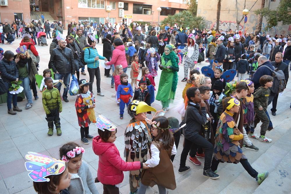 Els més petits enceten el Carnaval vallenc